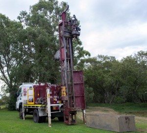 Explorer 50 Drilling Rig mounted on a Canter 4x4